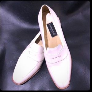Kenneth Cole vintage Soft White Penny Loafers
